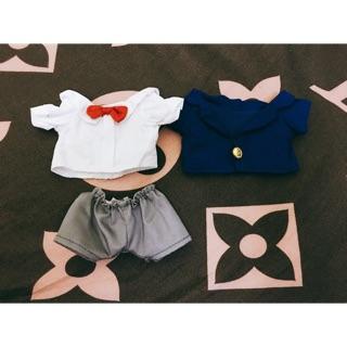 Outfit doll 20cm – bộ Conan ( tặng kèm mask dưỡng da )