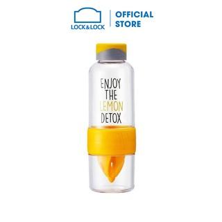 Bình Nhựa Đựng Nước Lock&Lock [HLC659YEL] (520ml)-Màu vàng thumbnail