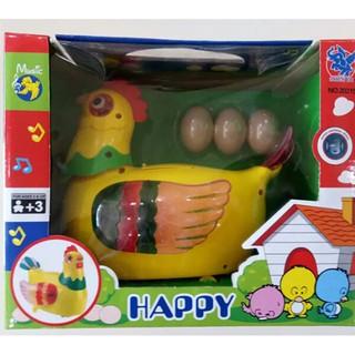 Đồ chơi gà mái đẻ trứng happy
