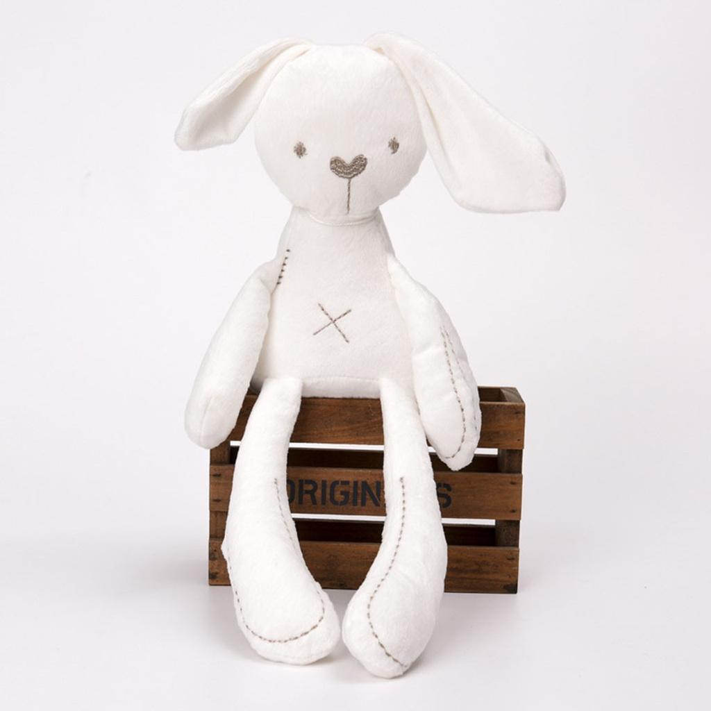 Thỏ Nhồi Bông Thiết Kế Đáng Yêu Cho Bé Mới