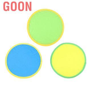 Goon Children Flying Disc Flexible Foldable Hover Hyper Fly Sofe Cloth Kids Toy for Boys Girls Family Ga