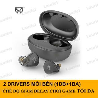 Tai nghe True Wireless KZ S1 S1D bluetooth 5.0 điều khiển chạm chống ồn 4 Drivers thumbnail