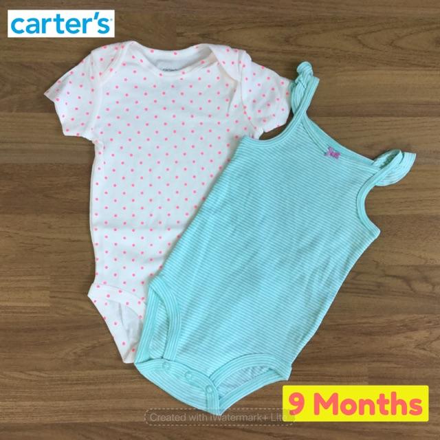 บอดี้สูท Carter's ไซส์ 9 เดือน