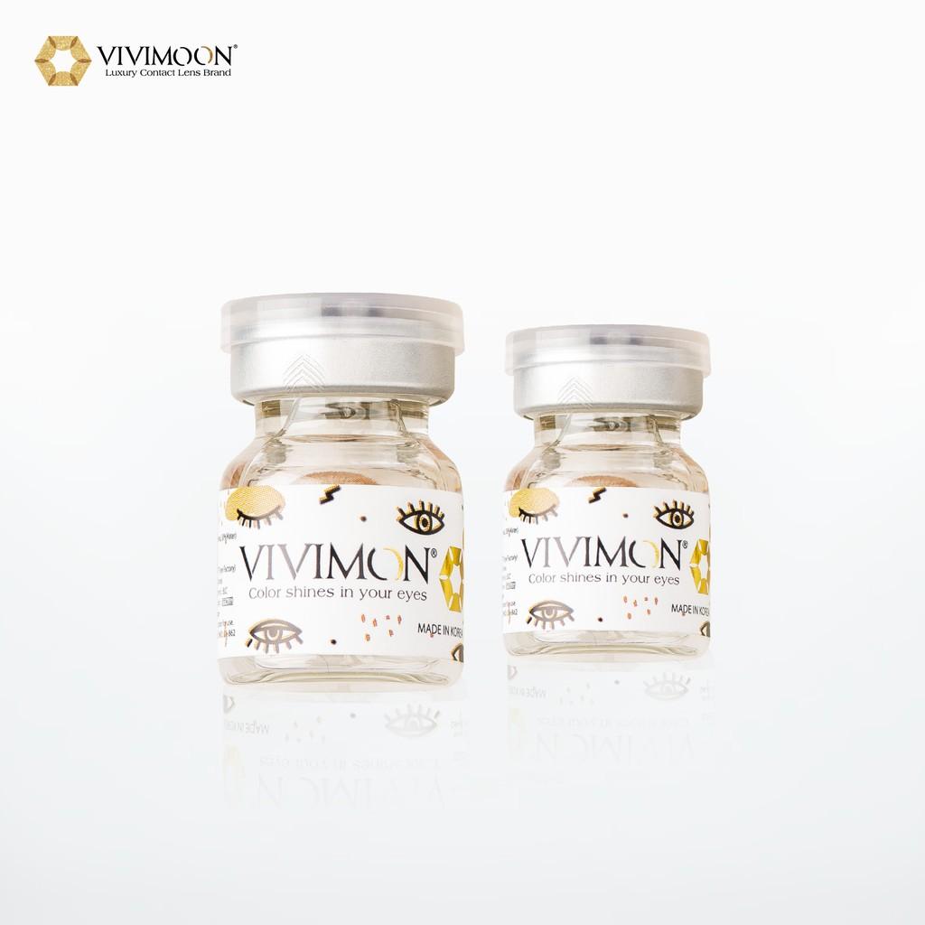 Kính Áp Tròng Trong Suốt VIVIMON ICE CLEAR - Lens Cận Không...