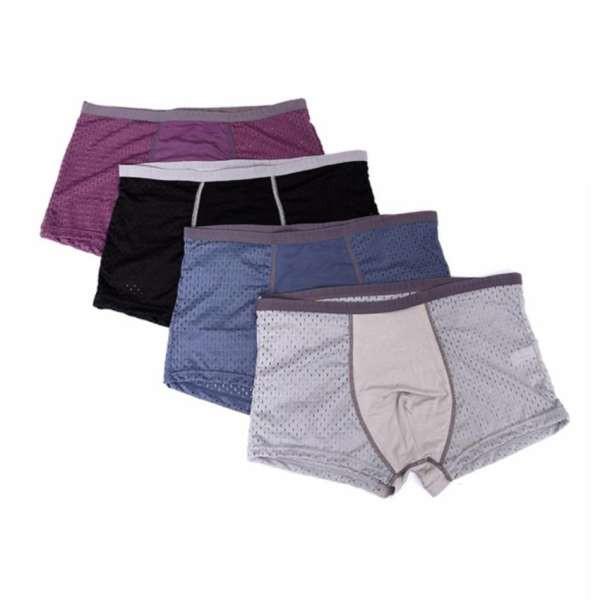 Sịp đùi nam thông hơi – Hàng cao cấp – Hộp 4 quần