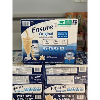 Thùng 30 Chai Sữa Nước Ensure Original Nutrition Shake (2022)