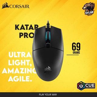 Chuột Gaming USB Corsair Katar Pro Ultra Light (nhẹ 69g, cảm biến cao cấp 12.400dpi, 6 nút với phần mềm tùy chỉnh) thumbnail