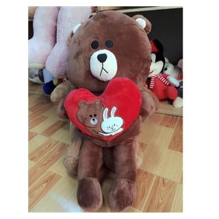 Gấu Brown ÔM TYM