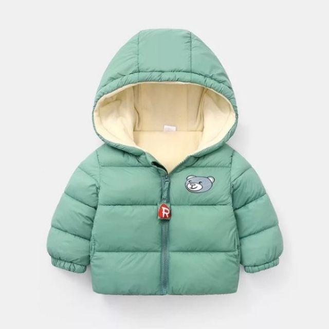 Áo phao gấu  mẫu mới cho bé