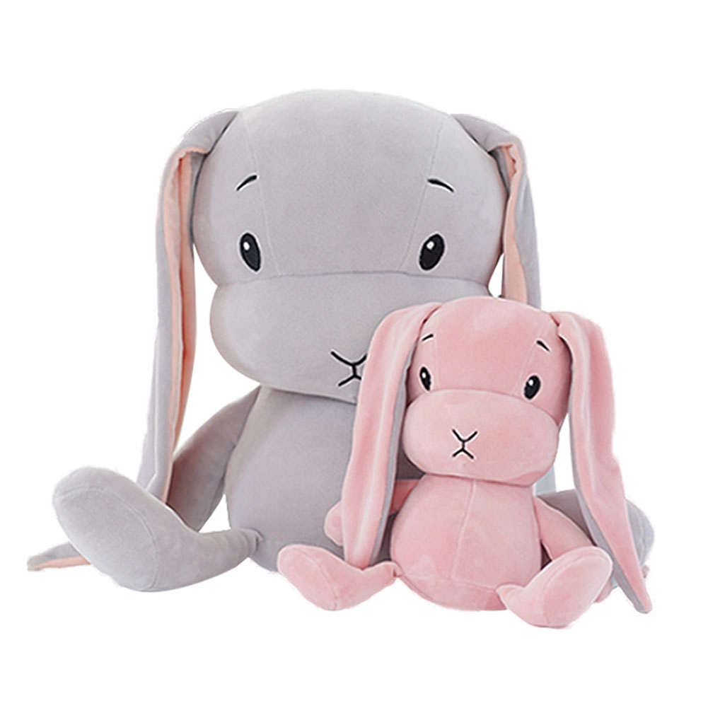 Cartoon Animal Portable Stuffed Sleep Accompany Soft Cute Toy Baby Plush Doll