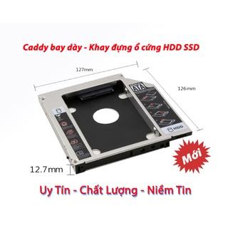 Khay đựng ổ cứng SSD, Caddy Bay Loại Dày 12.7mm thumbnail