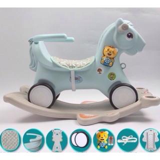 Ngựa bập bênh 2in1 cho bé (sẵn hàng)