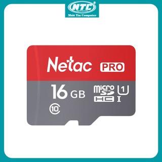 [Mã ELFLASH5 giảm 20K đơn 50K] Thẻ nhớ microSDHC Netac Pro 16GB U1 2K 90MB/s - Không Box (Đỏ) - Nhất Tín Computer