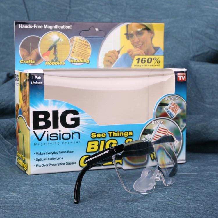 พร้อมส่ง แว่นขยายไร้มือจับฮิตที่สุด ชัดขึ้นและใหญ่ขึ้น มองของชิ้นเล็กๆเห็นได้ง่ายและสบาย