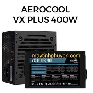 [Mã 157ELSALE hoàn 7% đơn 300K] Nguồn Mới 400W AeroCool VX PLUS 400 dây dài có 8 pin cpu,6Pin cho vga bảo hành 36 tháng thumbnail