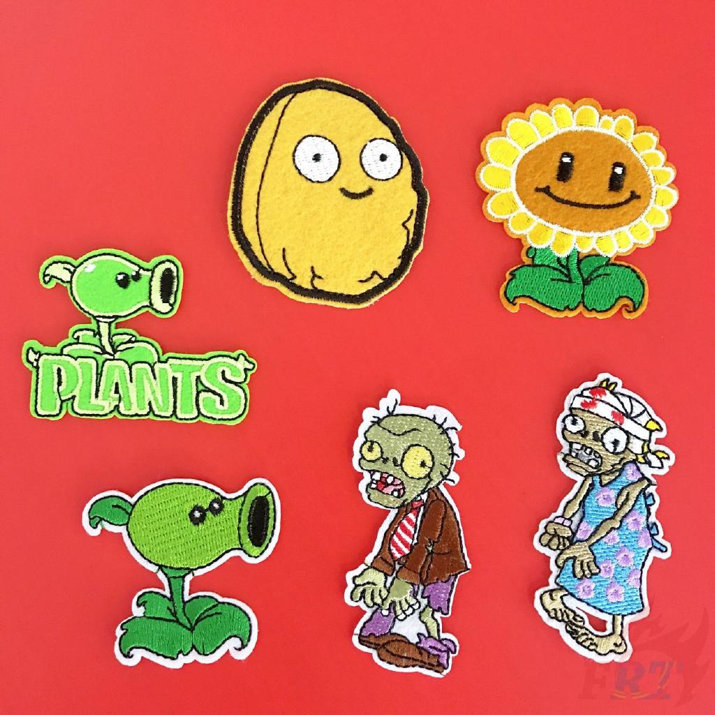 Sticker ủi thêu hình Plants vs. Zombies