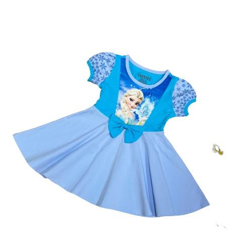Váy công chúa, váy Bạch tuyết, Elsa, Sofia Chất cotton 100% Cao Cấp Herokids VAY200X