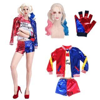 Áo Khoác Cosplay Harley Quinn