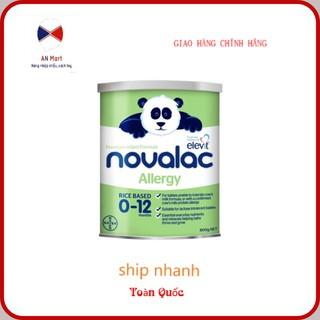 [Cho Bé Dị Ứng Sữa Bò]_ Sữa Gạo Novalac Aller Úc 800g Làm Từ 100% Protein Chiết Xuất Từ Gạo Date Xa Nhất
