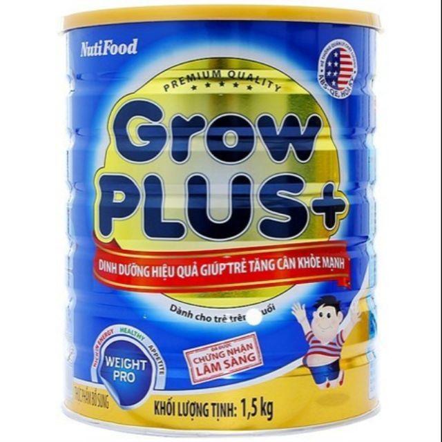 Sữa Grow Plus+ xanh 1,5kg Nut