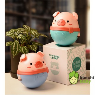 Lật đật heo hình chú lợn dễ thương đồ chơi cao cấp cho bé KICHIBA DCCC01 thumbnail