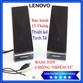Bộ Loa máy tính LENOVO L1520 2.0 thiết kế sang trọng âm thanh đỉnh cao, loa bass âm thanh sống động (bộ gồm 2 loa)