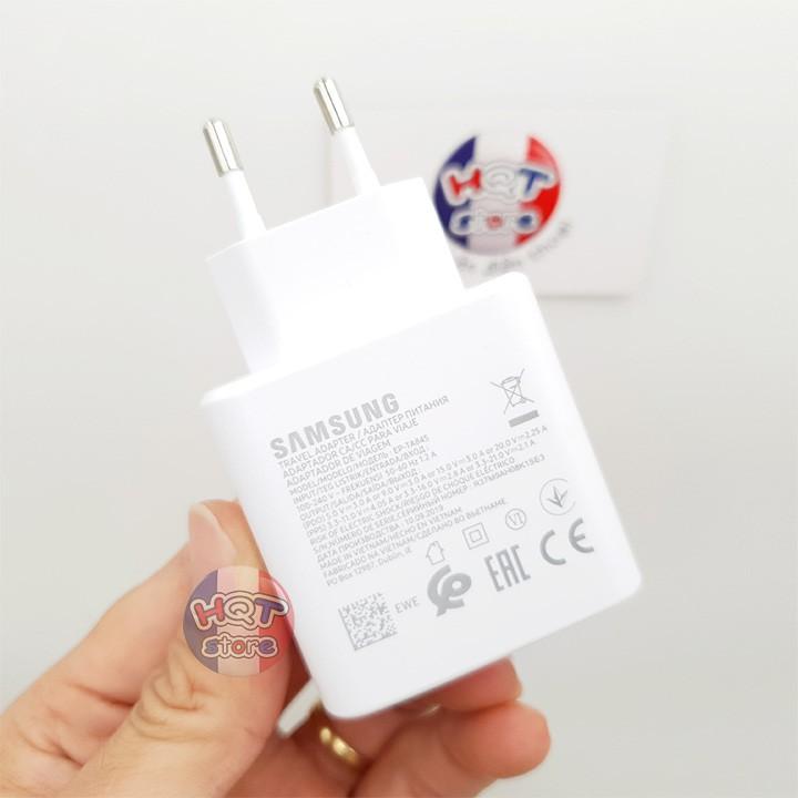 Bộ sạc siêu nhanh 45W Super Fast Charging cho Samsung Note 10 Plus chính hãng