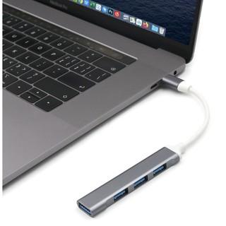 [Mã ELFLASH5 giảm 20K đơn 50K] Bộ Hub chuyển USB Type C Sang 3 Cổng Usb 2.0 + Usb 3.0