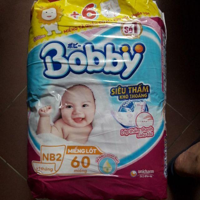 Miếng lót sơ sinh Bobby newborn 2 - 60