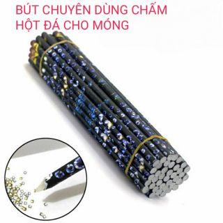Bút chấm hột chuyên dùng cho Nail, tiện lợi khi sử dụng, dễ dàng gắp hột đá để đính lên móng tay, trang trí móng tay.