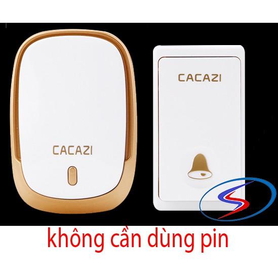 Chuông không dây cacazi. Nút chuông không cần dùng pin FA01