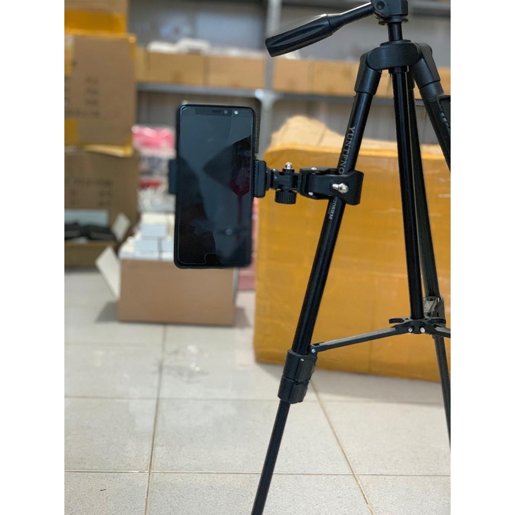 <3 Giá đỡ kẹp điện thoại gắn vào tripod hỗ trợ livestream,live quay phim nhiều máy cùng lúc ...