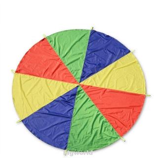 Attractive Fuuny Rainbow Kids Children Parachute