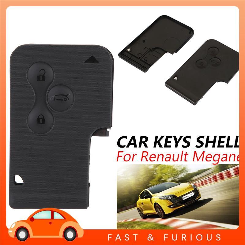 UU Renault Clio Scenic Megane Fine Key Fob Car Key Case Durable DIY Housing Holder Automobile