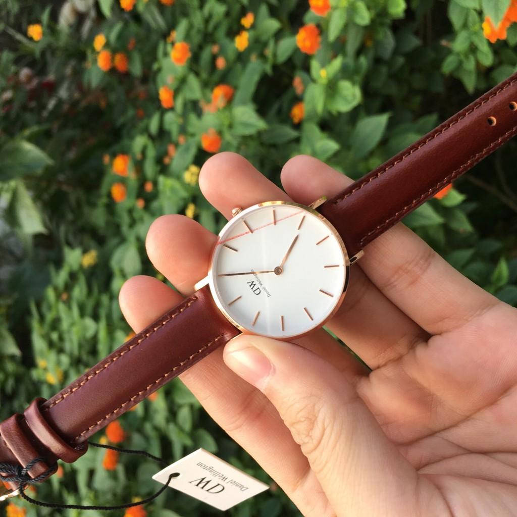 DW nữ Authentic - Đồng hồ nữ DW Classic 32mm - Fullbox Túi Xách ,Hộp , Sách Hướng Dẫn , thẻ , tag check code hãng