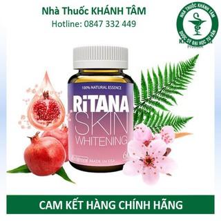 Viên uống trắng da RiTANA (Hộp 60 viên) [Viên uống chống nắng, Rinata, ranita, rinana] _Khánh Tâm thumbnail