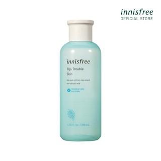 [Mã COSINNIS6 -10% ĐH400k]Nước cân bằng dành cho da mụn Innisfree Bija Trouble Skin 200ml thumbnail