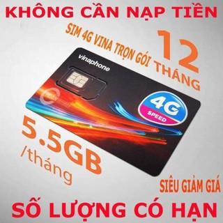 SIM 4G VINAPHONE D500 TẶNG 5.5 GB/THÁNG TRỌN GÓI 1 NĂM KHÔNG TỐN PHÍ GIA HẠN