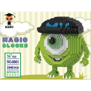 Bộ xếp hình Lego mini BABU-8801 NLG0033-01