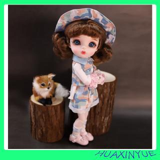 28 Joints princess toys Full Set Lucky Dream Fairy Barbie BJD Doll Including clothes 1/6 girl gift