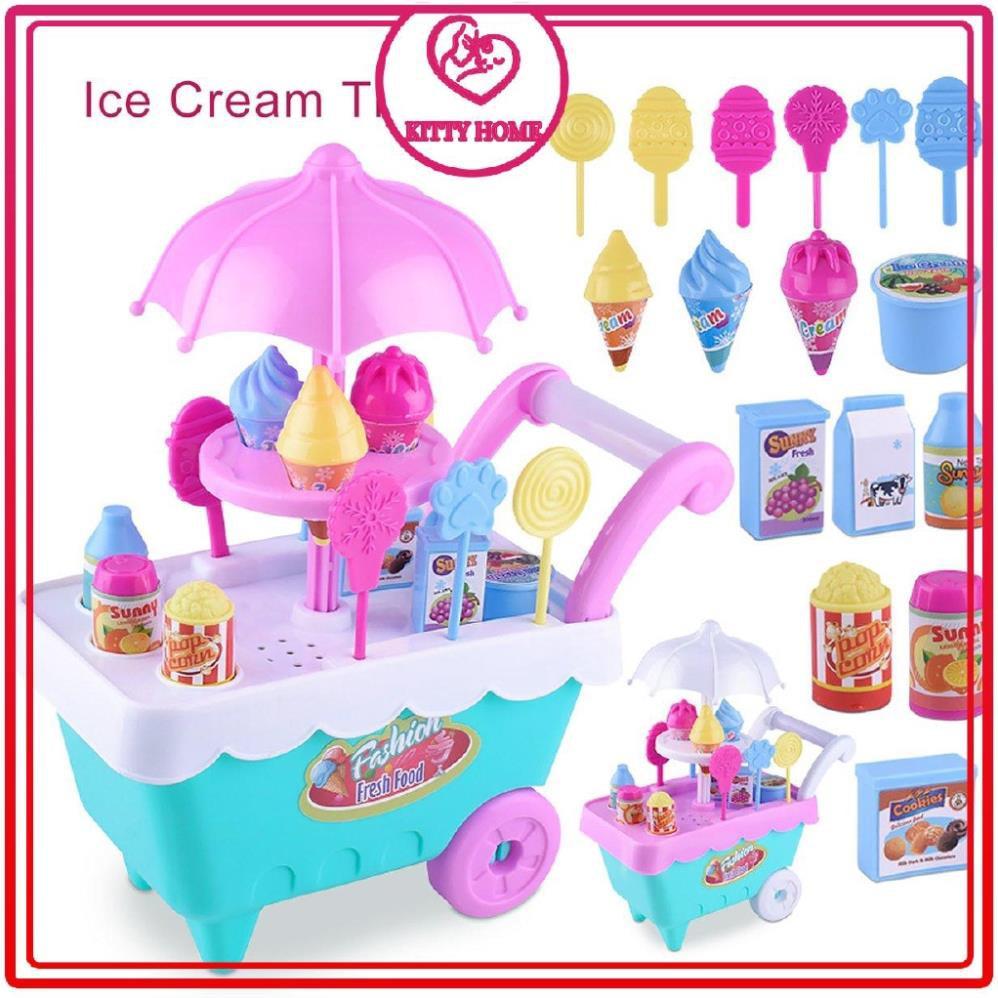 Bộ đồ chơi xe bán kem vui nhộn cho bé