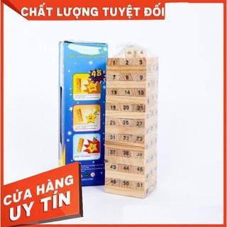 [TRỢ GIÁ] [Mã TOYDEC giảm 10% tối đa 15K đơn từ 50K] Đồ Chơi Rút Gỗ Wish Toy Cho Bé (54 thanh)