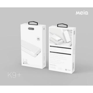 Pin sạc dự phòng Meia K9+ 20.000mAh 2 cổng sạc type C micro - Hàng chính hãng thumbnail