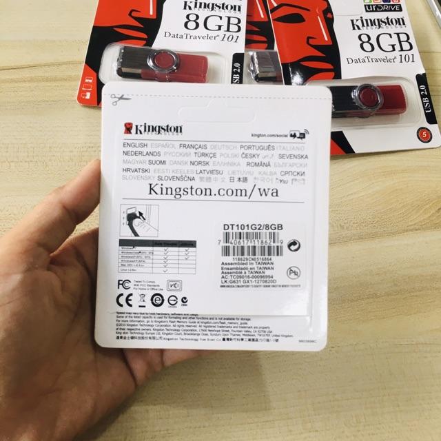 [Mã 2404EL10K giảm 10K đơn 20K] Usb Kingston 8GB Hàng Cao Cấp