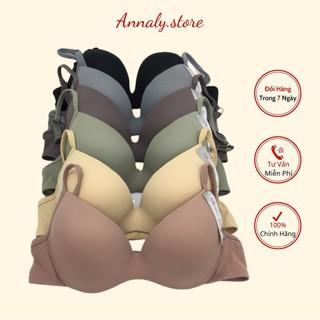 Áo lót nữ, áo ngực có gọng đệm mỏng Annaly thun mát lịm nhập khẩu Thái Lan sz 34 thumbnail