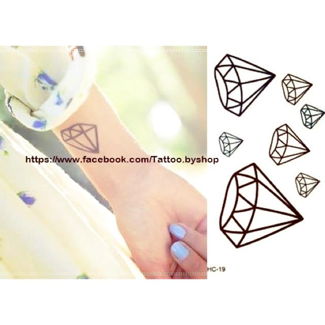 Hình xăm dán kim cương