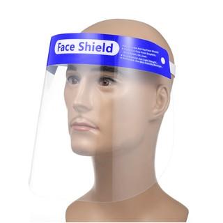 Kính che mặt trong suốt Face Shield chống bụi, giọt bắn, nước bọt.. thumbnail