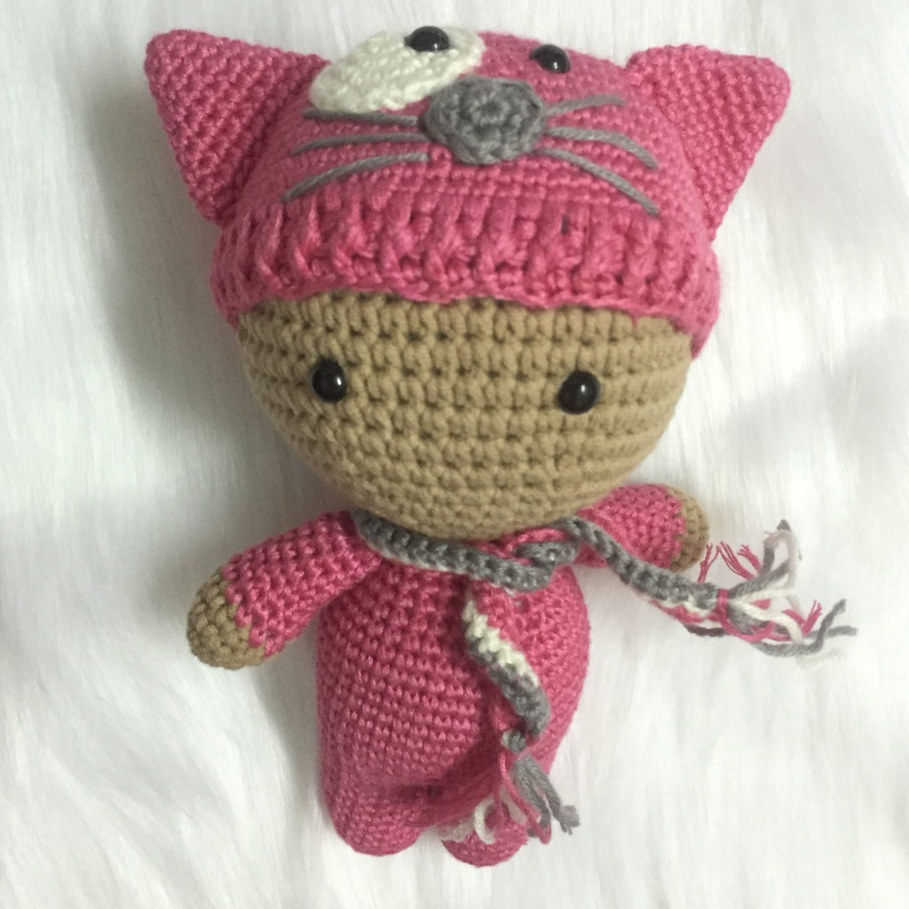 Búp bê Handmade bằng len (An toàn cho bé) #bupbe