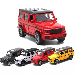Mercedes-Benz G55 Pull Back Vehicles Toys 1:32 SUV Simulation Alloy Metal Toys Car Door Can be Open