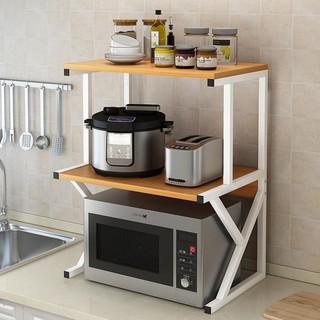 Kệ lò vi sóng sắt 2 tầng hiện đại phòng bếp GM02